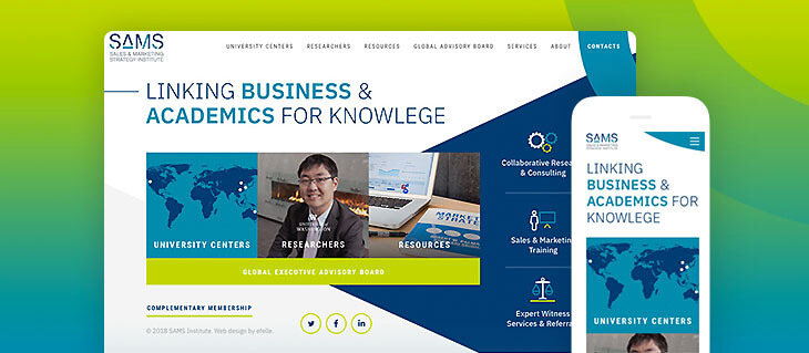 Sales and Marketing Research Firm Has a Brand New Website