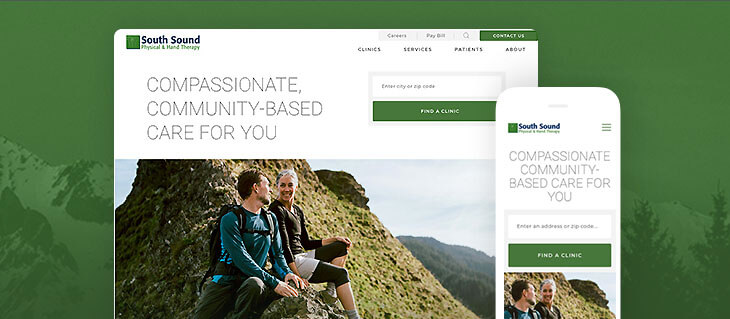 New Professional Service Website for Physical Therapy Clinics Is Live