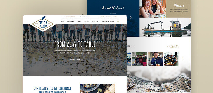 efelle creative Partners with BigCommerce to Launch New Online Store for Taylor Shellfish