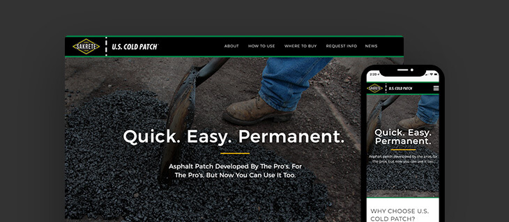 High-Tech Asphalt Company Now Has a Bold New Website
