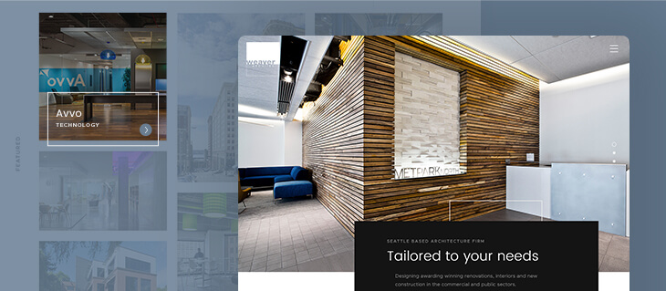efelle creative Launches Bold New Website for Seattle-Based Weaver Architects