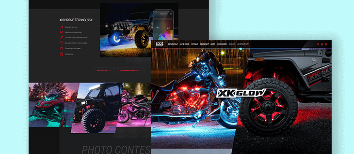 Check Out Our Headless eCommerce Website Design for XKGLOW