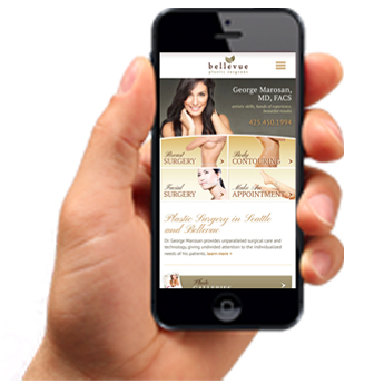 Mobile Website Design Image
