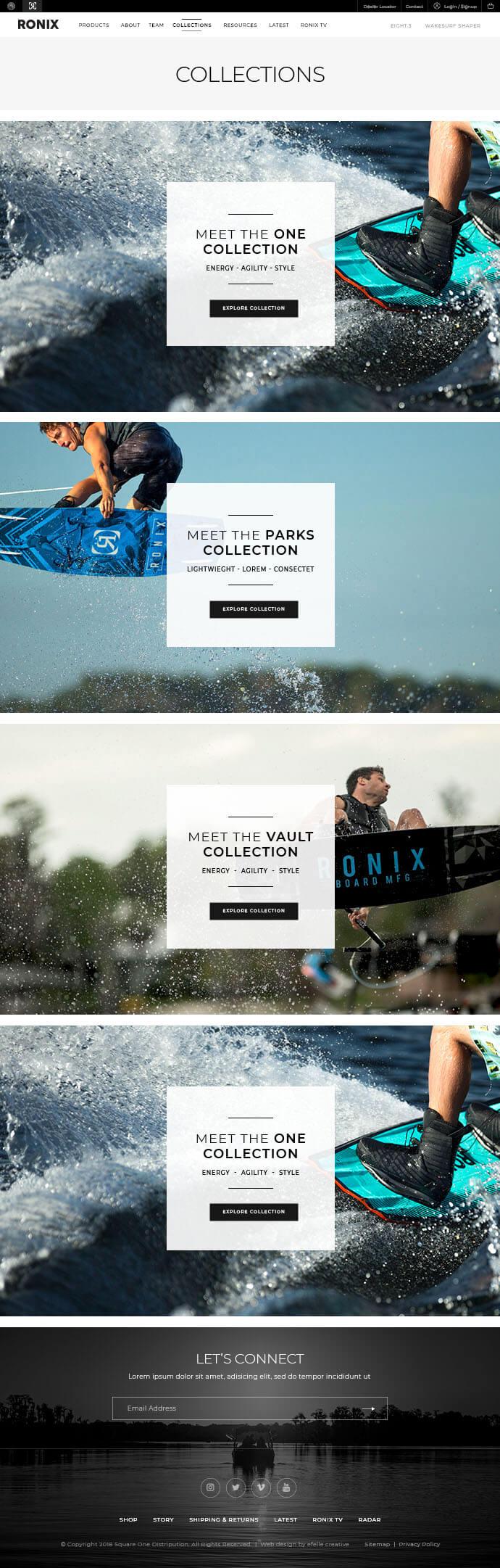 Ronix Wakeboards : efelle creative, Seattle, WA