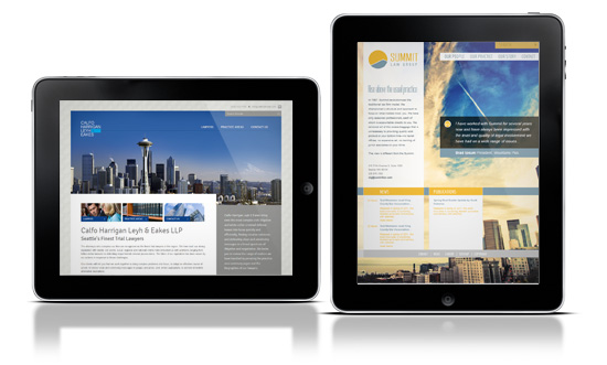 seattle lawfirm web design