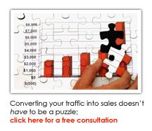 Convert Web Traffic into Sales