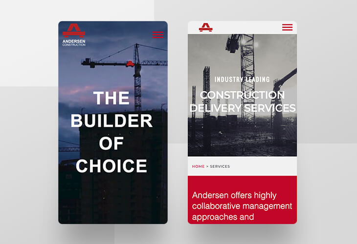 Five AEC Firm Websites that Are Perfectly Mobile Responsive : efelle