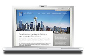 law firm webdesign