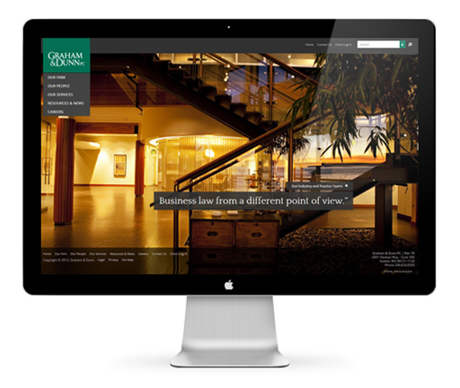 Law Firm Web Design by efelle media